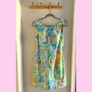 Lilly Pulitzer Resort Tie Back Dress – Size 4